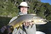 a beautiful brown - fly fishing tromen Lake